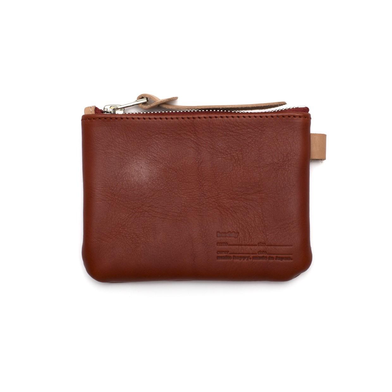 Fang Wallet Dark Red