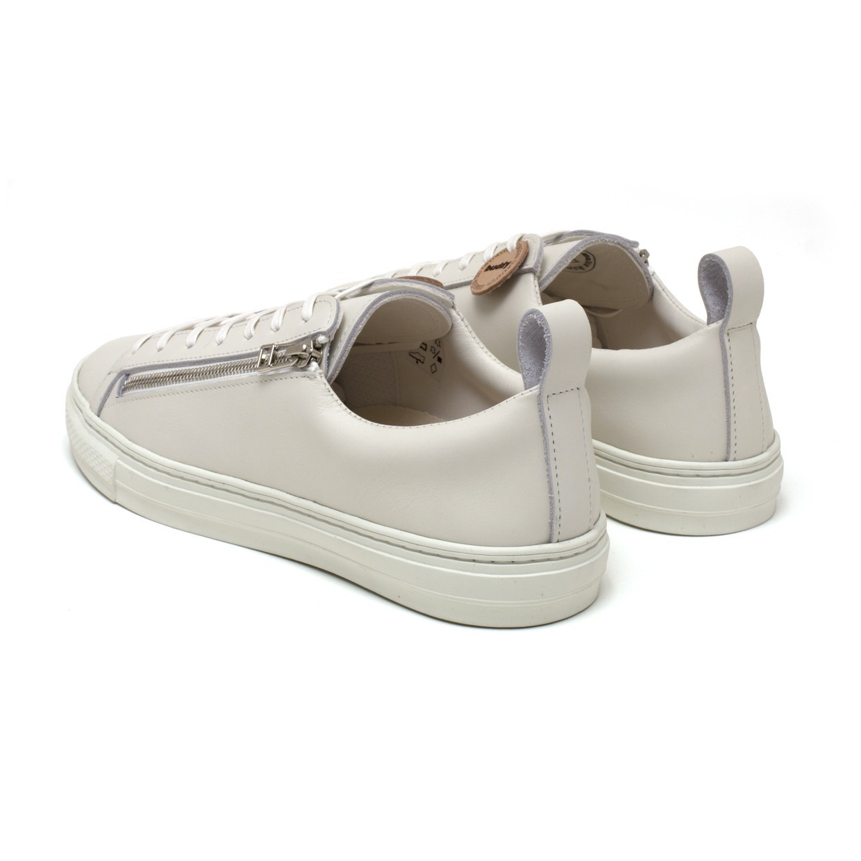 Bull Terrier Smooth Low Chubby Zip White