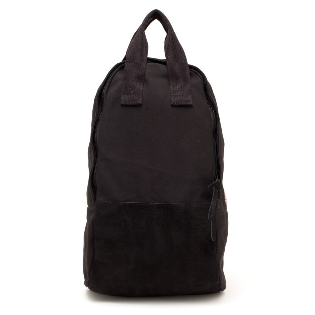 Ear Tote Backpack Long Black