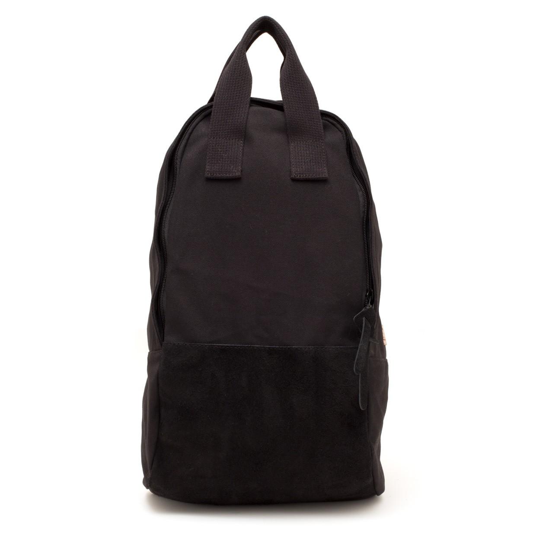 Ear Tote Backpack Long Black