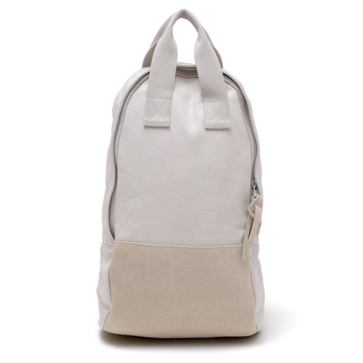Ear Tote Backpack Long Grey