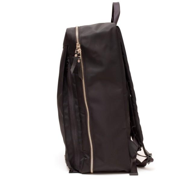 Luster Center Zip Backpack Noir