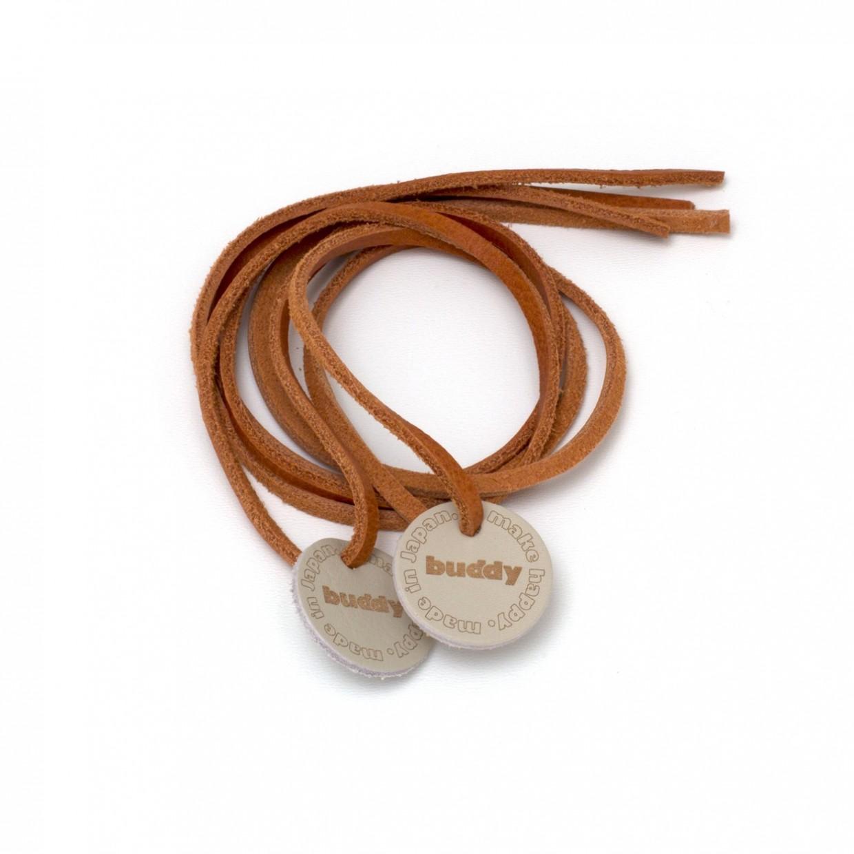 """Lacets cuire naturel avec Patch en cuir 78 cm : 31 """""""
