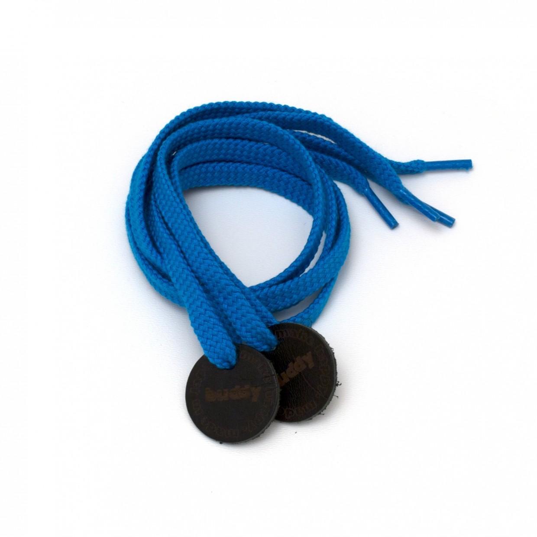 """Lacets Blue avec Patch en cuir 78 cm : 31 """""""