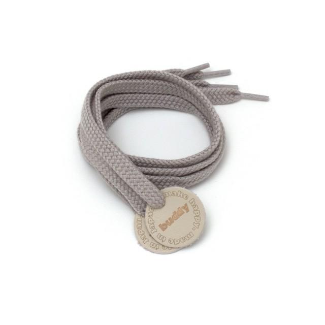 """Lacets Gris avec Patch en cuir 78 cm : 31 """""""