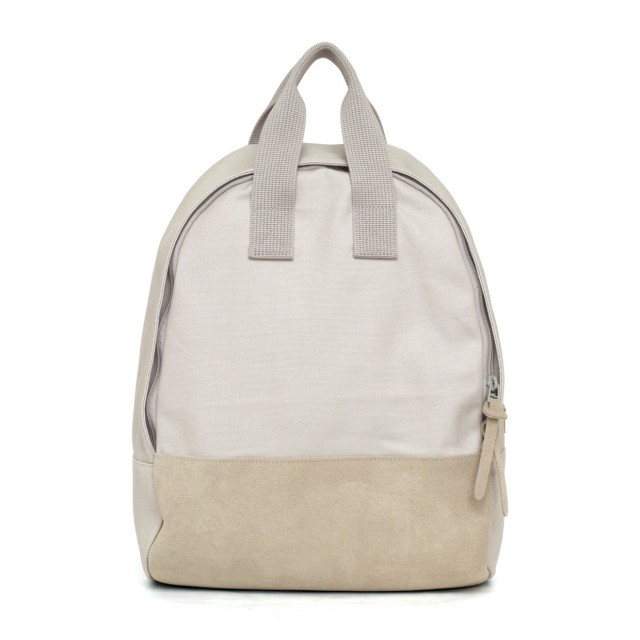 Ear Tote Backpack Grey
