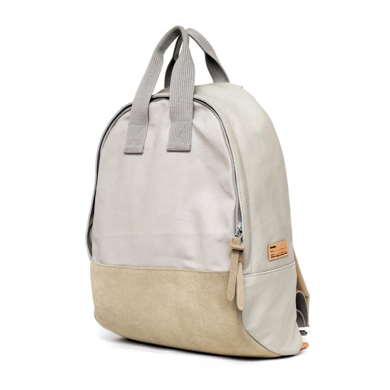 Ear Tote Backpack Grey