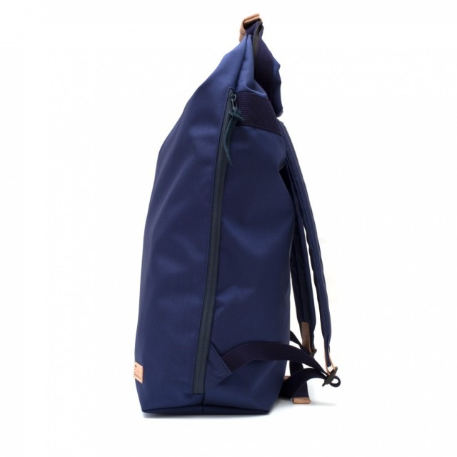 Ear fold top backpack Navy