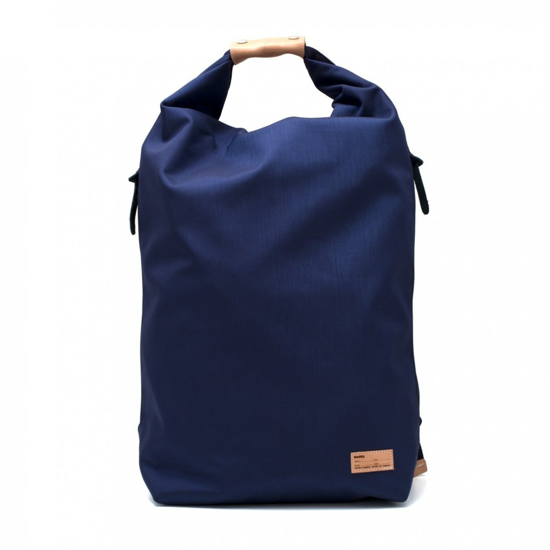 Ear fold top backpack Navy