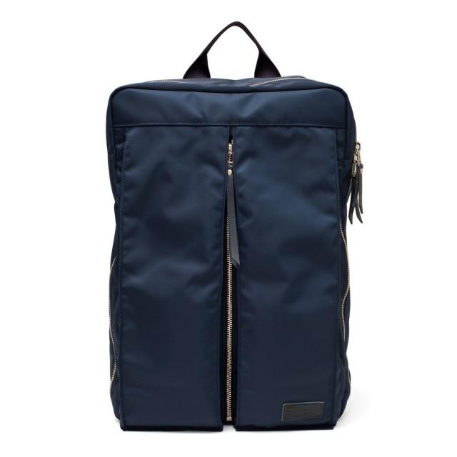 Luster Center Zip Backpack Navy