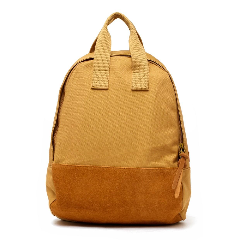 tote backpack camel
