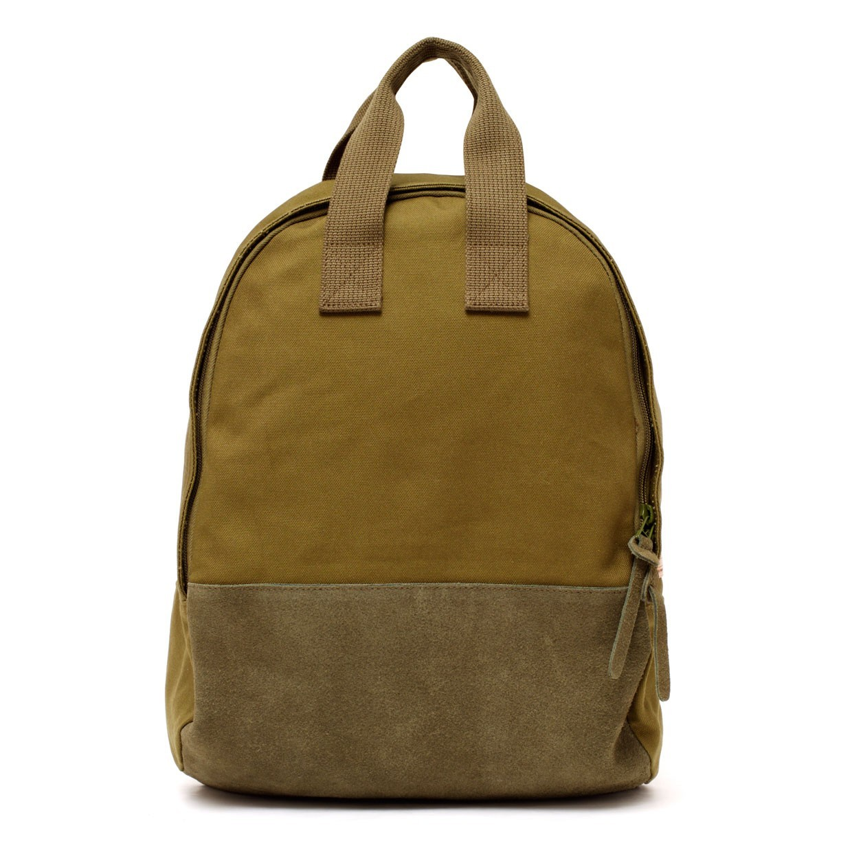 tote backpack olive