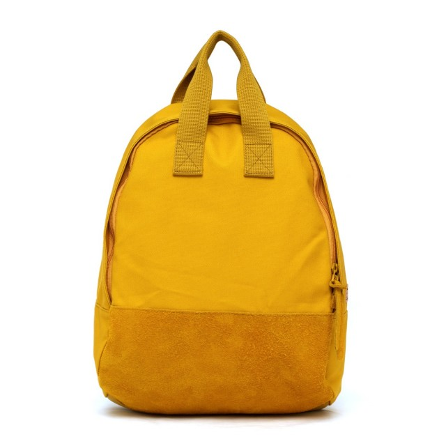 Ear Tote Backpack Mustard