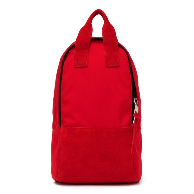 Ear Long Tote Backpack Red