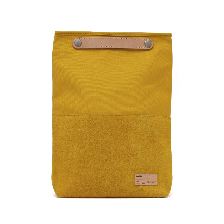 Lead Clutch Bag Moustard S