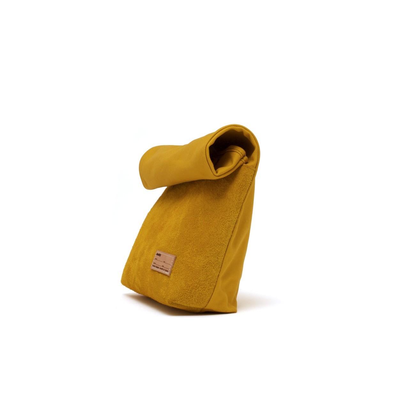 Lead Clutch Bag Mustard S