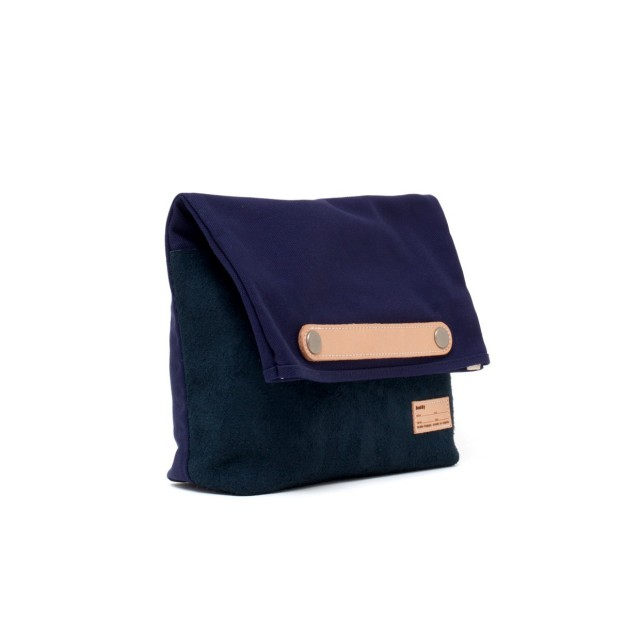 Lead Clutch Bag Navy S